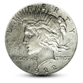 Silver Peace Dollar - XF - Random Year