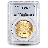 $20 Liberty Head Gold Double Eagle - NGC/PCGS MS63 - Random Year